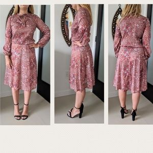 Vintage Sue Brett Floral Dress